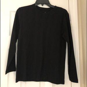 A black sweater